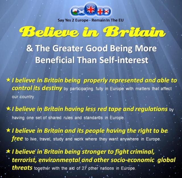 I believe in Britain