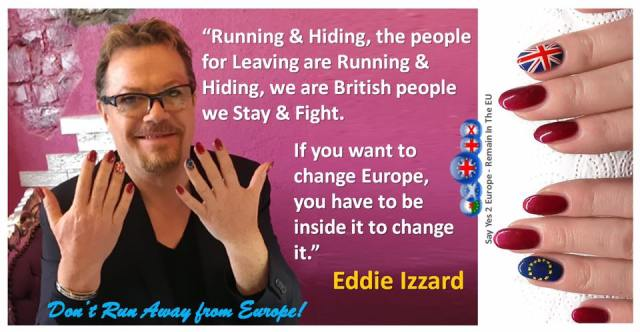 Eddie Izzard - Running & Hiding
