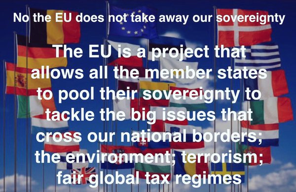 No the EU does not take away our sovereignty