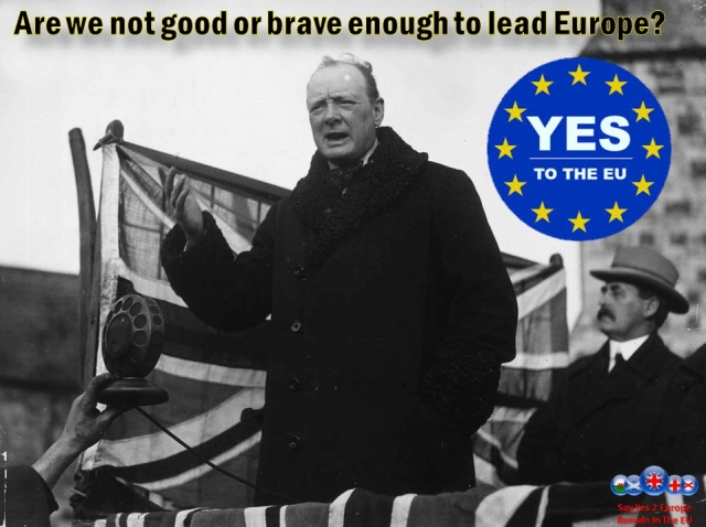 Are we not good or brave enough to lead the EU