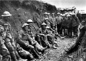 World War One British Soldiers.